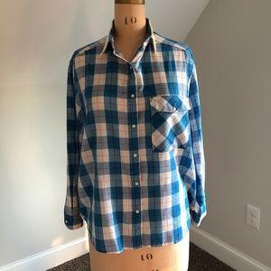 Vintage Women's Wrangler Plaid Shirt